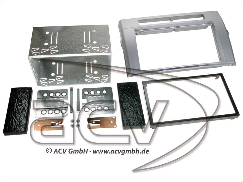 ACV 381300-21-2 double-DIN Toyota Corolla Verso -> 2009 silver
