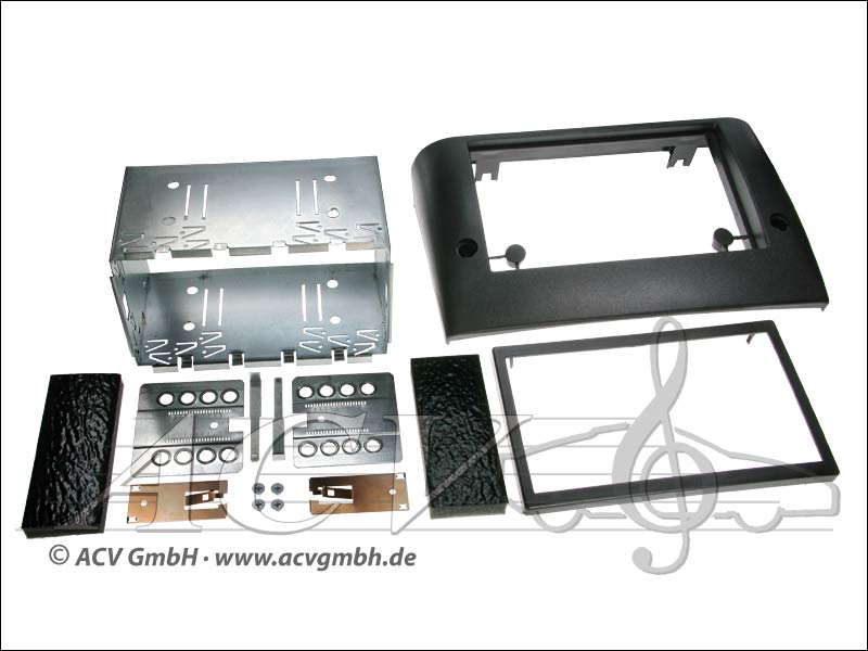 Double-DIN installation kit Fiat Stilo
