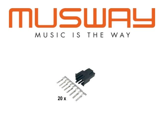 MUSWAY MPK-QSB Quadlock Lautsprecher Buchse MPK-QSB
