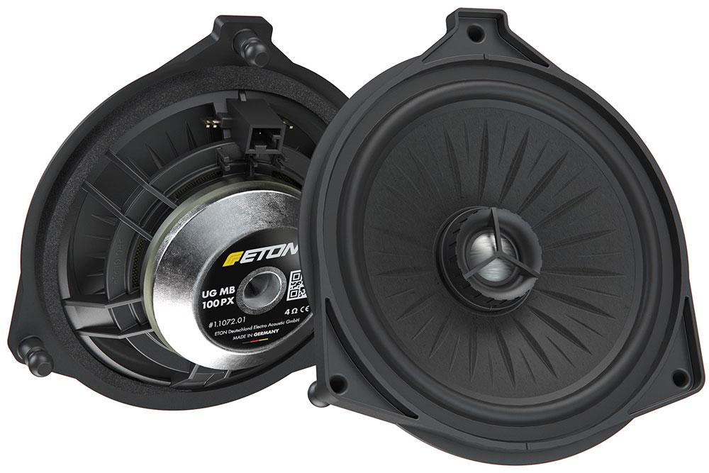 ETON MB100PX 10 cm 2-Wege KOAX Lautsprecher Mercedes C-Klasse, E-Klasse, S-Klasse, GLC-Klasse für Hutablagen/Heck-System