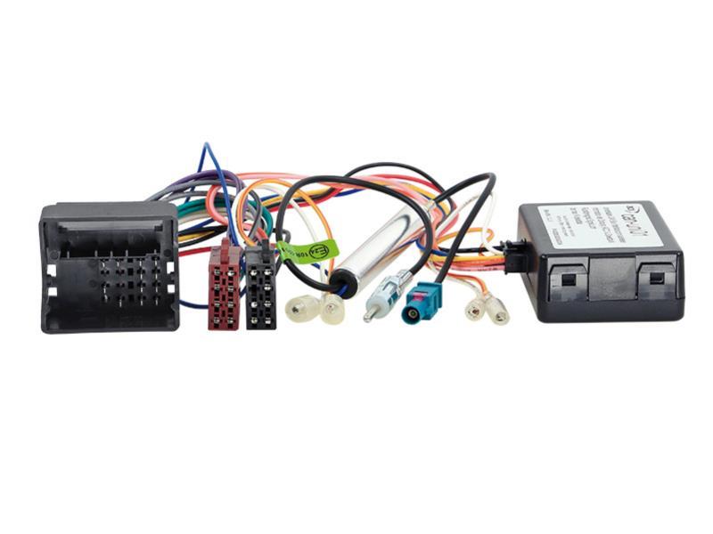 ACV 1041-46-15 CAN-Bus Kit Citroen / Peugeot Quadlock -> Strom + Lautsprecher (ISO) + DIN Antennenanschluss