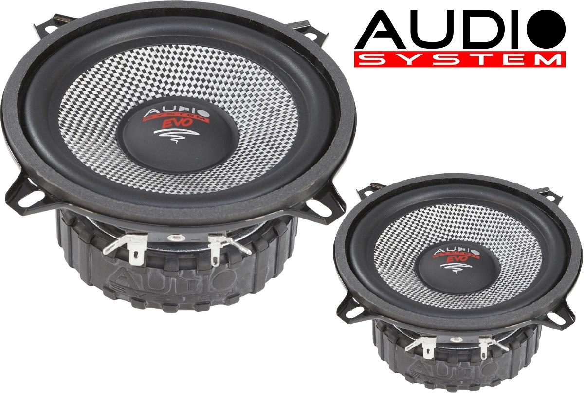 Audio System AS 130 EVO - 13 cm Tief / Mitteltöner / Midrange Lautsprecher 1 Paar