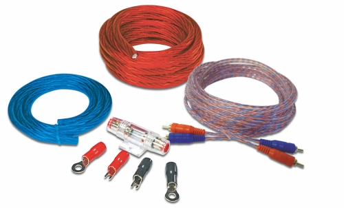 Dietz 20120 cable set on 20 mm gold-plated square