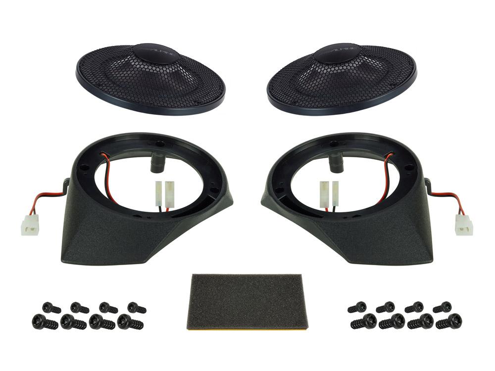 Alpine SPC-R100-DU Radial-Lautsprechersystem für Fiat Ducato (250, 290),Peugeot Boxer und Citroen Jumper