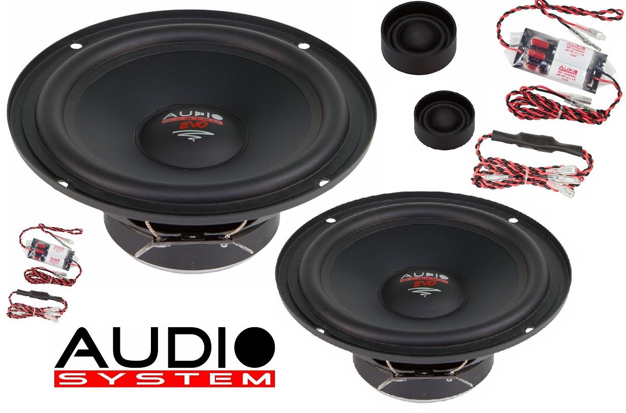 Audio System X 165 EM EVO 165 mm 2-Wege EASY MOUNTING Compo System