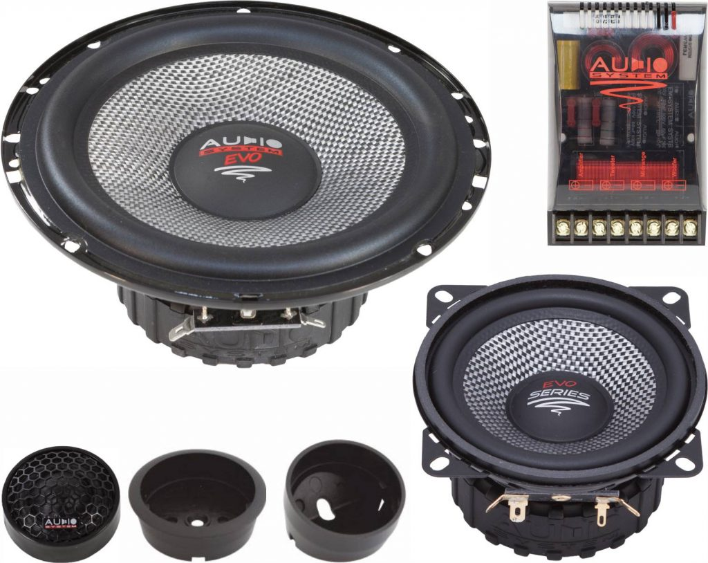 Audio System X 165/3 EVO 2 X–ION-SERIES 3-Wege System KICKBASS Compo Lautsprecher