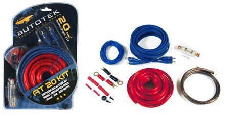 Autotek Autotek AT20 AT20KIT Cable Kit 20mm KIT