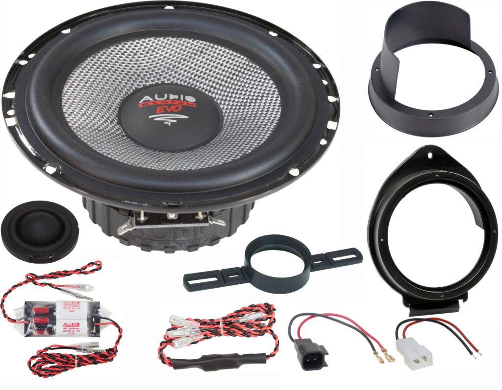 AUDIO SYSTEM XFIT OPEL ASTRA K EVO2 110W PERFECT FIT COMPO SYSTEM Lautsprecher für OPEL ASTRA K 2015 ->