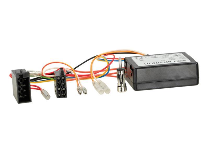 ACV 1001-46-15 ACV 1001-46-15 CAN Bus Kit Alfa - > Power + altoparlante ( ISO) + connettore d'antenna DIN
