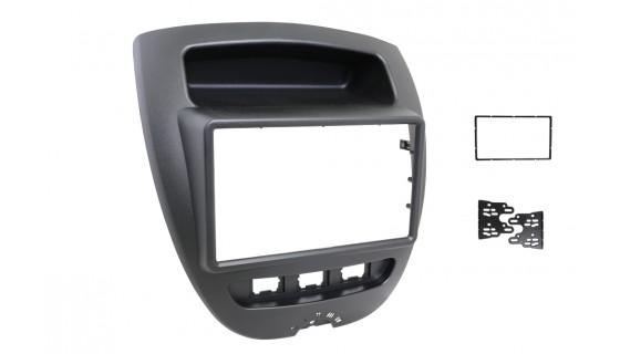 RTA 002.287P1-0 Double DIN Senior aperture , Citroen C1 , Peugeot 107 , Toyota Aygo