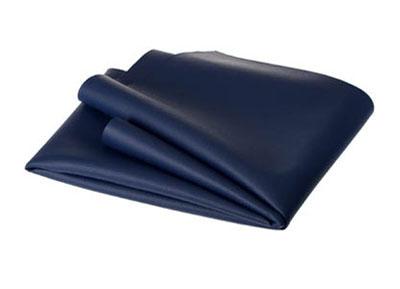 RTA 252.942-0 PVC cuir artificiel, couleur: bleu foncé - Largeur: 1,37 / 1,40 m - Longueur: 70cm