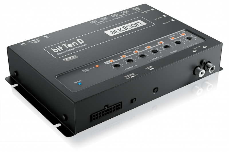 Audison bit Ten D - digitaler 5-Kanal Soundprozessor SIGNAL INTERFACE PROCESSOR