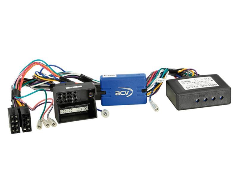 ACV 42-AD-206 SWC Audi A3 / A4 / TT quadlock / Vollaktivsytem > Panasonic
