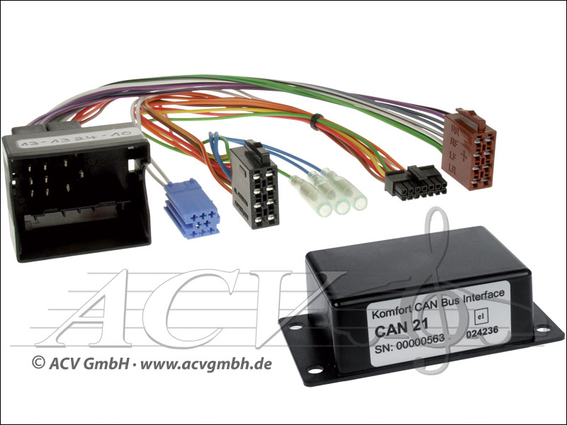 ACV 12-1324-10 VW CAN-BUS Adapter Multifunktionslenkrad auf Beck