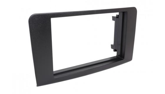 RTA 002.065S1-0 Doppio DIN telaio di montaggio , M nero / ML ( W164 ) 05 - >