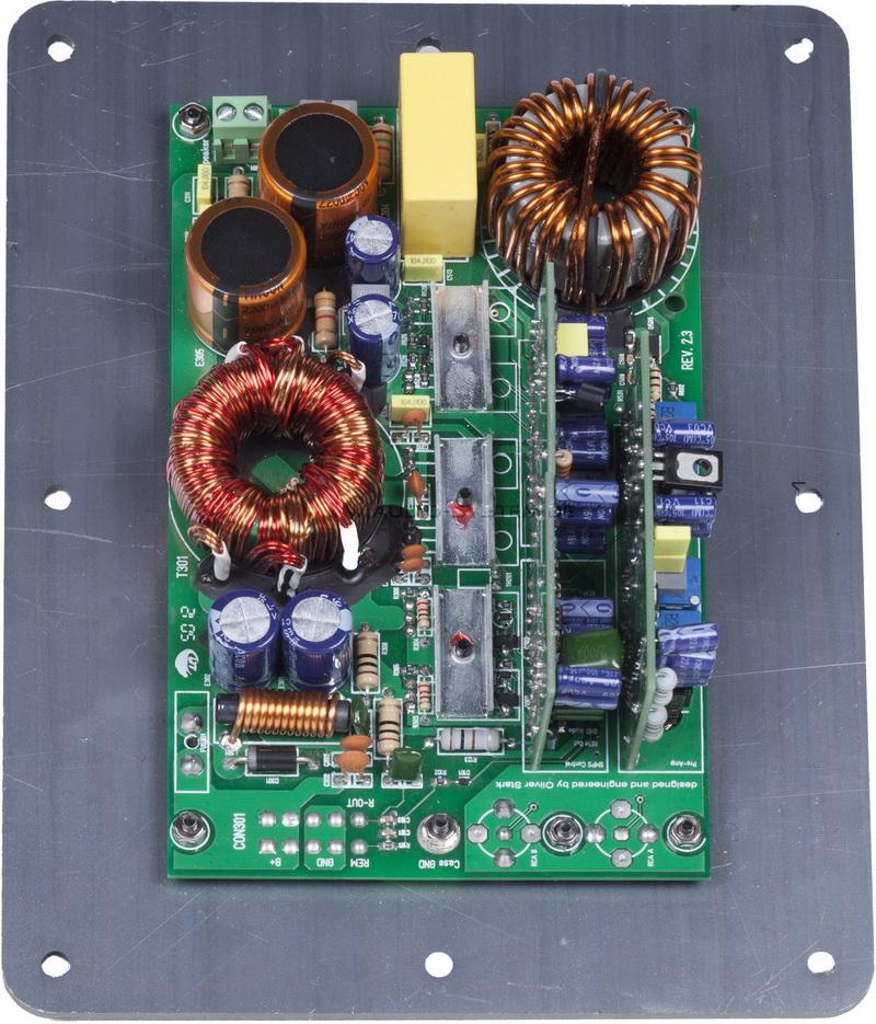 Audio System H 330.1 Active Upgrade Car Audio Endstufe HELON-SERIES 1-Kanal H330.1