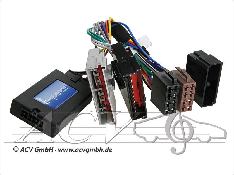 ACV 42-FO-801 adaptateur volant pour Bj.03 FORD -> Clarion