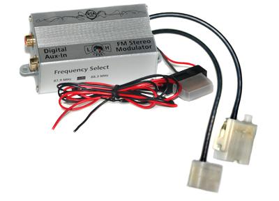 RTA 007.210-0 AUX IN - fréquence FM numérique convertisseur