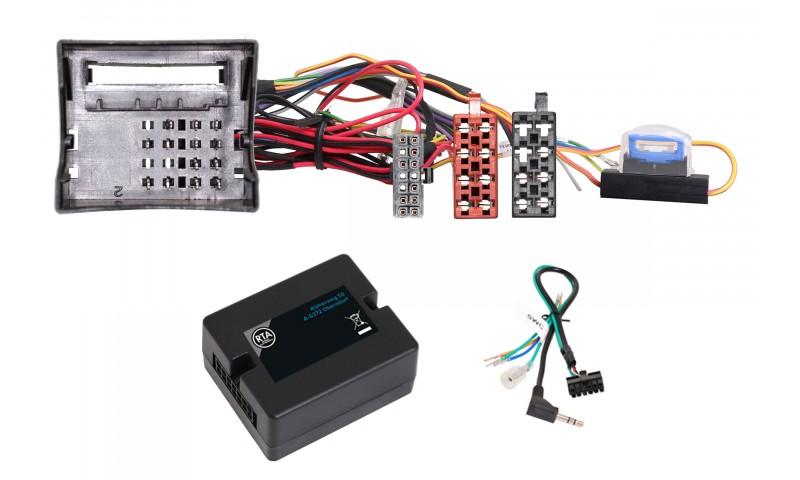 RTA 014.343-0 Adapter für Lenkradfernbedienung, für BMW 1er E81, E82, E87, E88, 3er E90, E91, E92, E93, X1 E84, BMW Z4 E89, Mini