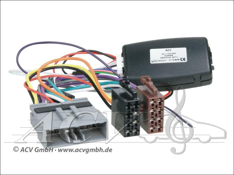ACV 42-1132-600 Honda Civic adaptateur de roue / CR-V 06 - Sony>