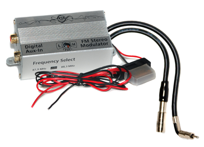 RTA 007.485-0 AUX IN - possible digital FM frequency converter