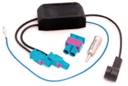 RTA 204.086-0 Antennendiversity + Phantomeinspeisung- Stromversorgung für Antennenverstärker