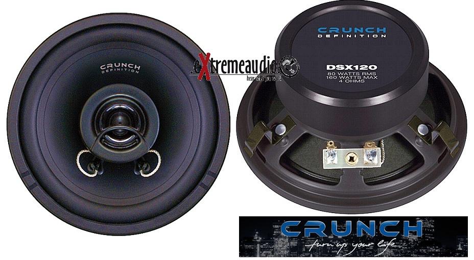 CRUNCH DSX 120 2 WAY COAXIAL 12 cm DSX120