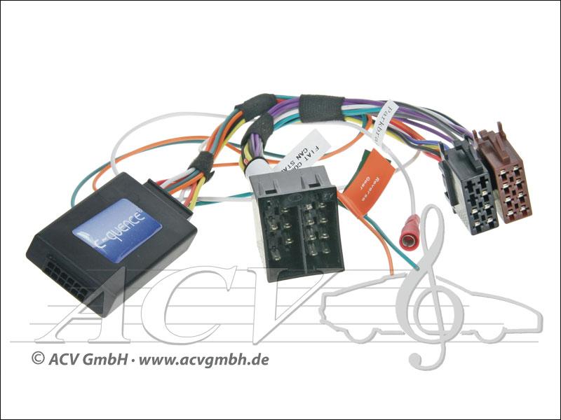ACV 42-AR-904 Steering Wheel Adapter Alfa MiTo 08 CAN-Bus -> JVC