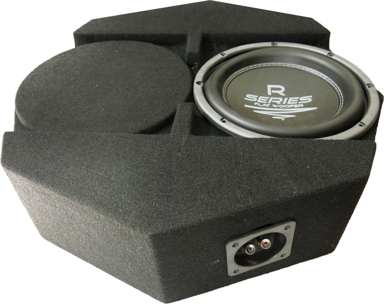 Audio System SUBFRAME R 10 FLAT ACTIVE AKTIVER R-SERIES SUBFRAME Gehäuse Subwoofer + Monoamplifier mit R 10 FLAT + H-330.1