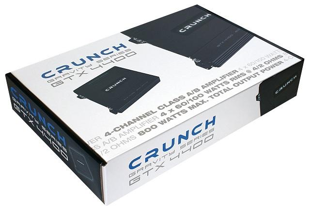 CRUNCH GTX-4400 4-Kanal Verstärker GRAVITY AMP GTX4400