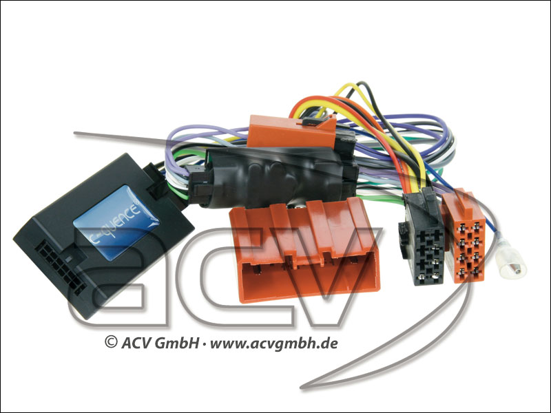 ACV 42-MZ-107 Wheel Adapter Mazda CX-7 - amplificato-> Alpine