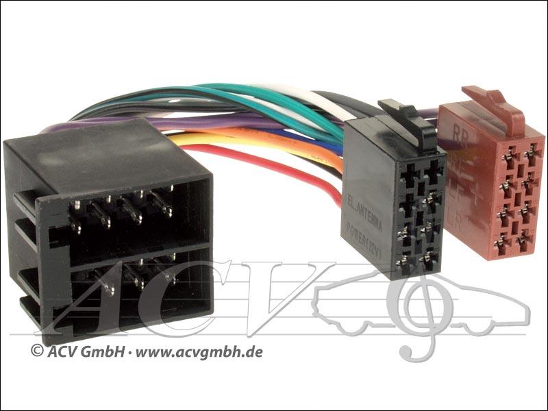 ACV 1230-02 Universal modernisation pouvoir kits et haut-parleurs