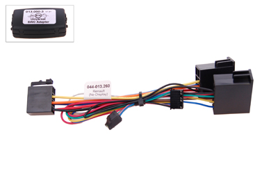 RTA 013.260-0 Steering wheel with steering wheel remote control adapters for vehicles without CAN bus controller