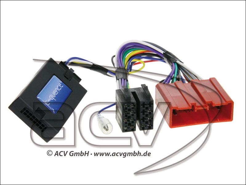 ACV 42-MZ-803 Wheel Adapter Mazda 6-non-amplified Clarion