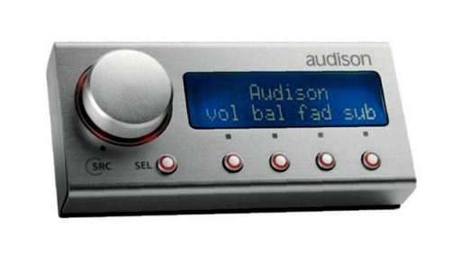 Audison DRC Bedieneinheit für Audison Soundprozessoren DIGITAL REMOTE CONTROL TH AND bit