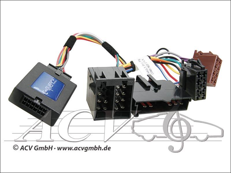 ACV 42-RN-502 steering wheel adapter to Renault YOM00 -> Blaupunkt