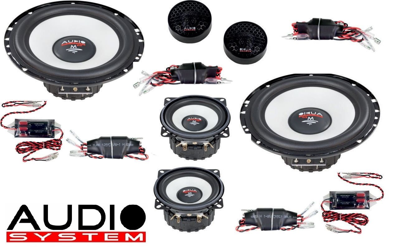 Audio System M 165/3 EVO 16,5cm 3-Wege HIGH EFFICIENT Compo System