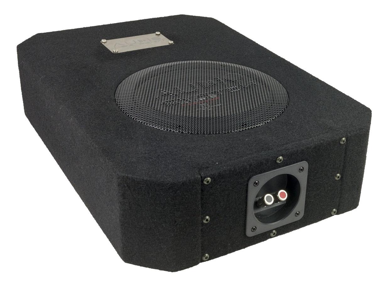 Audio System R 08 FLAT DBR ACTIVE EVO Subwoofer + Monoamplifier R 08 FLAT + CO-200.1