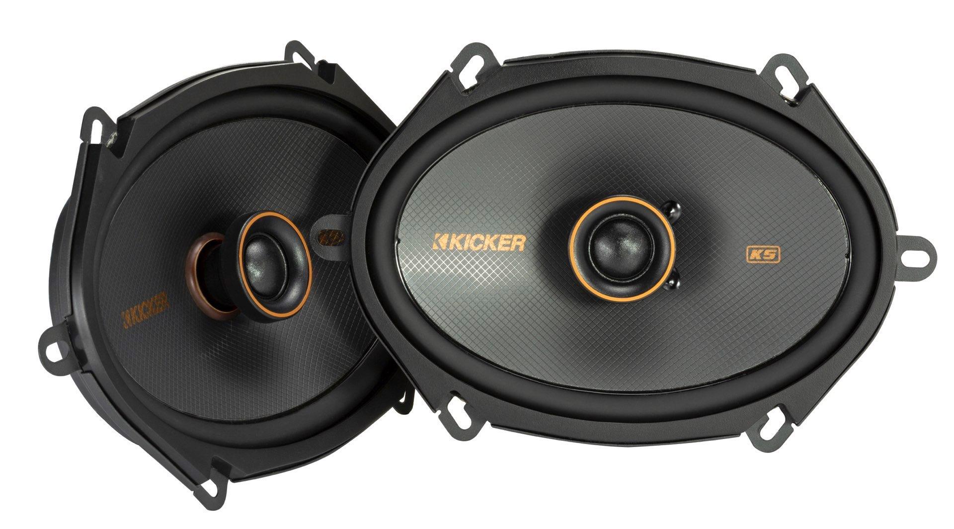 """KICKER KSC680 2 Wege Koax Lautsprecher 16 x 20 cm (6 x 8"""") KSC6804-47 1 Paar"""