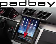 41-1324-101 Padbay Display- und Lenkradfernbedienungsadapter CAN Connect Seat, Skoda, VW weißes Display - ALPINE