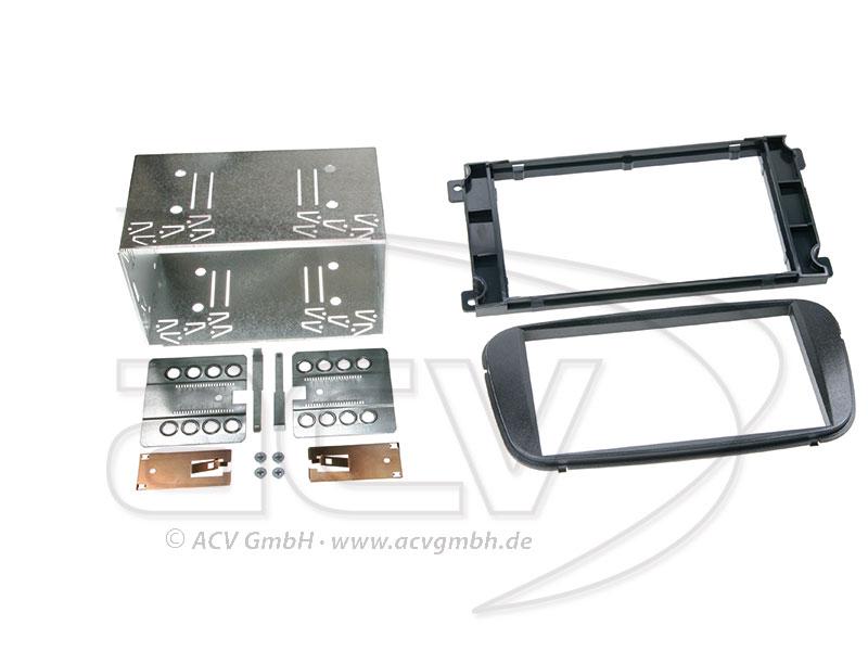 ACV 381114-19-1 doppio DIN lunetta radio per Ford Mondeo / Focus / C-Max / S-MAX / Galaxy