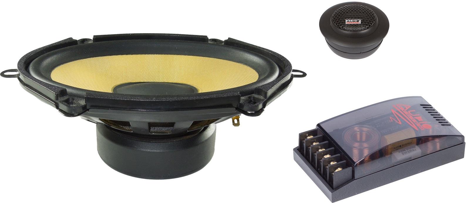 Audio System R 507 EVO 5x7 2-Wege FORD Compo System Lautsprecher Speaker