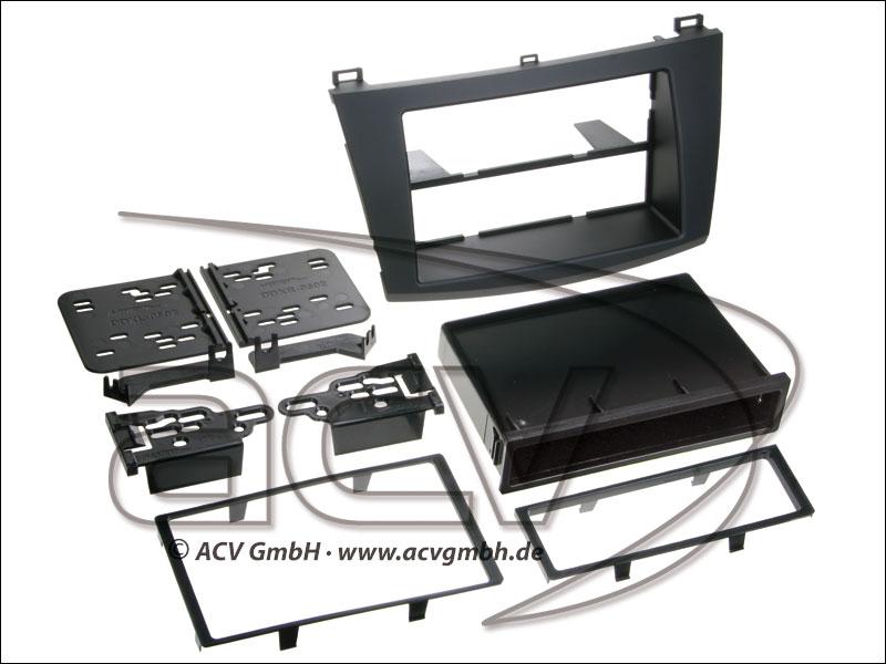 ACV 281170-09 Ablagefach Mazda 3 2010-> (schwarz)