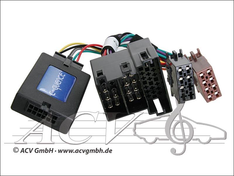 ACV 42-PG-604 adattatore del volante Peugeot 206 / 306 -> Sony