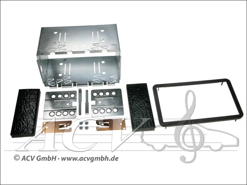 Double-DIN installation kit Alfa 159 / Brera / Spider