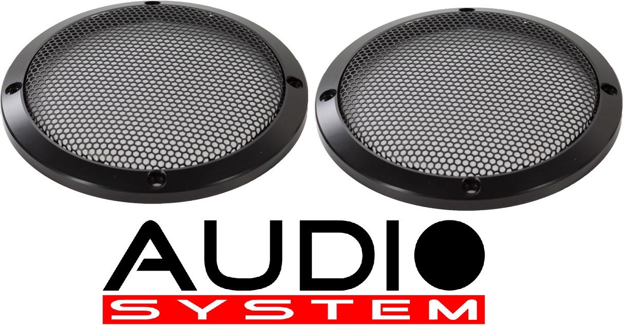 AUDIO SYSTEM GI 165 AV Aluminium-Lautsprechergitter AVALANCHE-SERIES 1 Paar