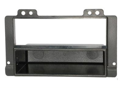 RTA 001.245-0 2- DIN Einbaurahmen, ABS schwarz für LANDROVER Freelander (Ford) / 00 - 07