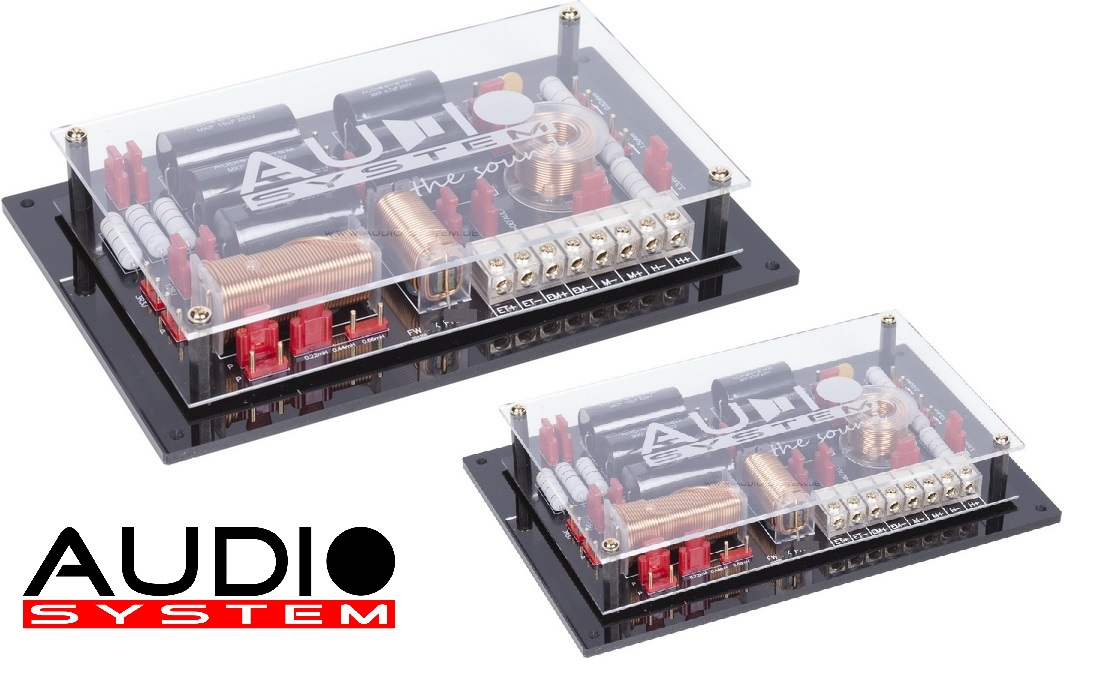AUDIO SYSTEM FW AVALANCHE 2-Wege ABSOLUTE HIGH END Frequenzweiche AVALANCHE-SERIES 1 Paar