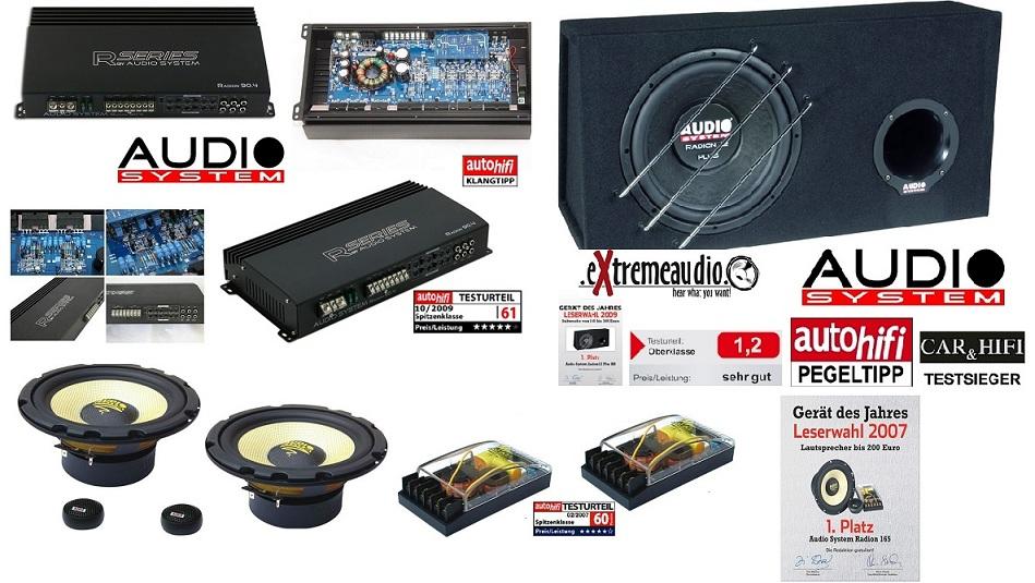 Audio System RADION SERIES Set RADION 12 + R90.4 + Radion 165