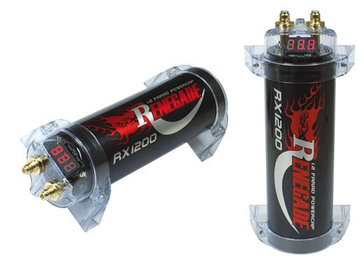 Renegade 1,2 Farad Pufferelko RX1200 RX 1200